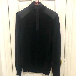 🆕 CALVIN KLEIN men's zip neck sweater